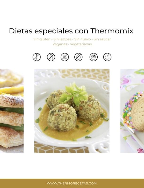 dietas especiales thermomix